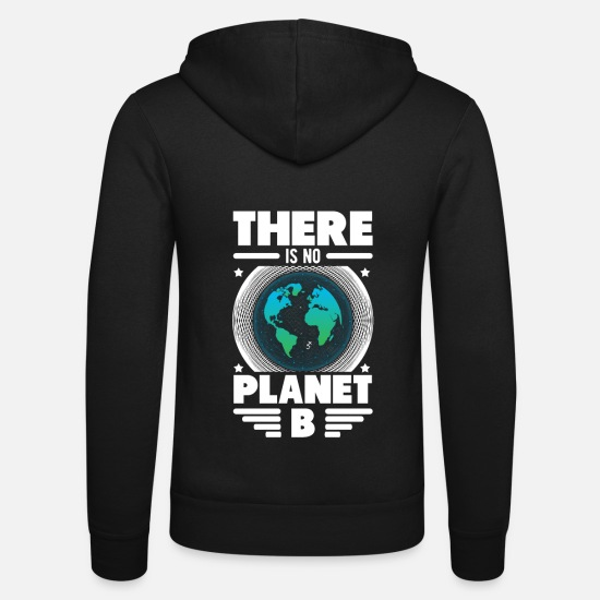 Saves Hoodies & Sweatshirts - Save the Earth - Save the World - Save the Earth - Unisex Zip Hoodie black
