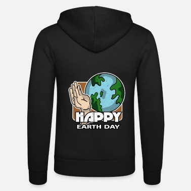 Earth Day Earth Day - Earth Day - Felpa con zip unisex