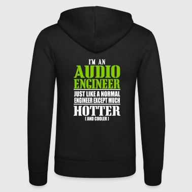 BEST AUDIO ENGINEER TECHNICIAN GIFTS SHIRTS - Unisex-hettejakke fra Bella + Canvas