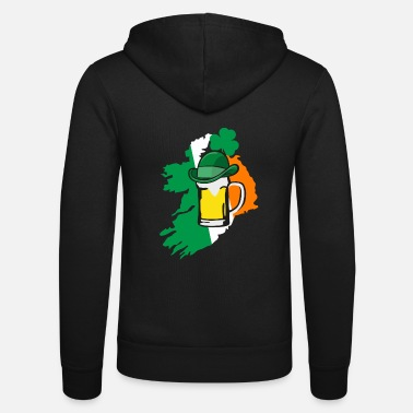 Irish Beer Irish beer - irisch - Felpa con zip unisex