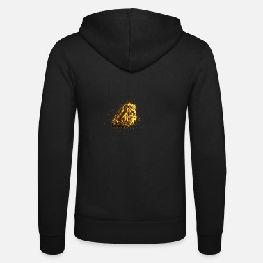 Furbelow Tier Dekoration vergoldet golden - Gold - Unisex Kapuzenjacke