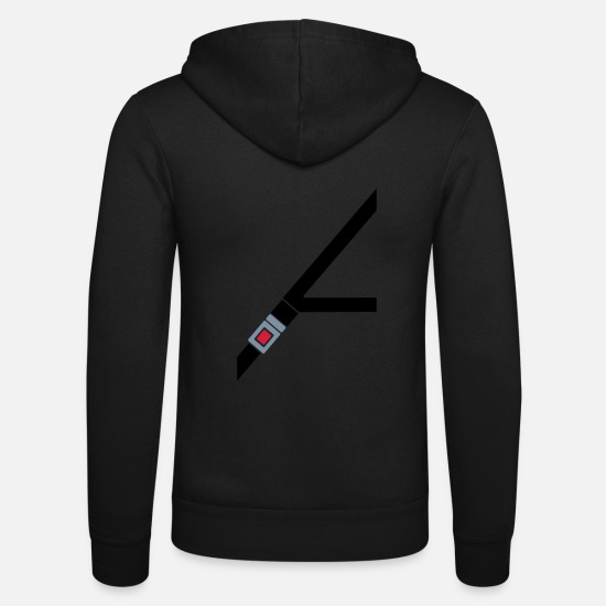 Belt Hoodies & Sweatshirts - Seat belt - Unisex Zip Hoodie black