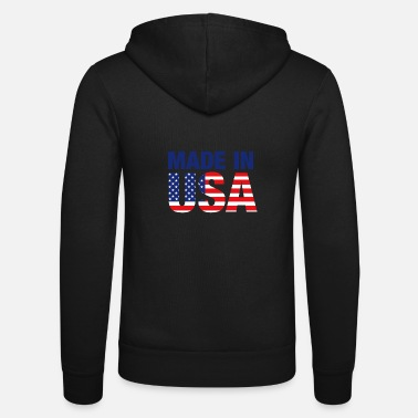 Made In Usa Made in USA - Unisex Zip Hoodie
