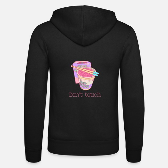 Gift Idea Hoodies & Sweatshirts - Do not touch - Unisex Zip Hoodie black