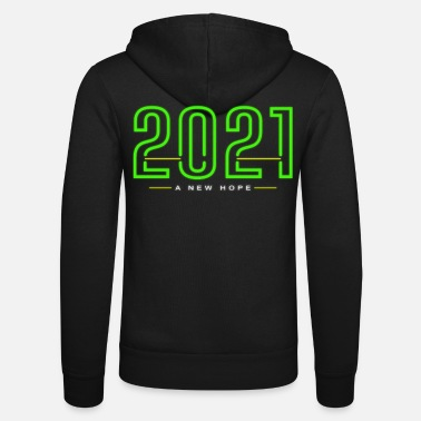 2021 A New Hope New Year Corona gift idea - Unisex Zip Hoodie
