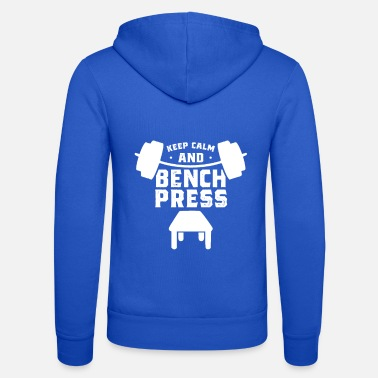 Bench Bench press bench press - Unisex Zip Hoodie