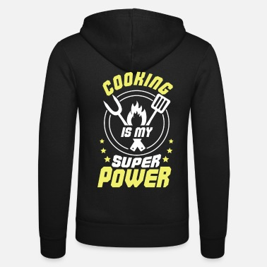 Dietary Cook Cooking Is My Superpower Super Cook Kitchen Gift - Unisex Zip Hoodie