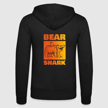Bear hain, revitty - Unisex Bella + Canvas -hupputakki