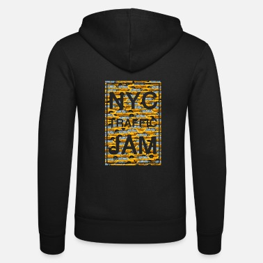 NYC traffic jam taxi new york yellow cab big apple - Unisex Kapuzenjacke