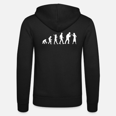 Job Partner evolution - Unisex Zip Hoodie