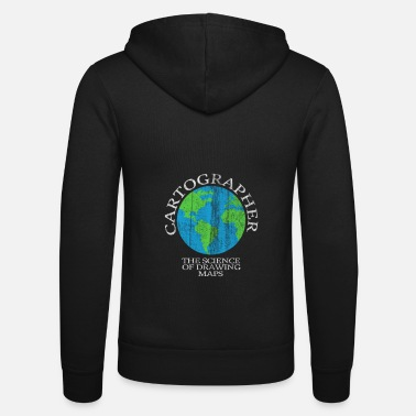 Cartography Cartography world - Unisex Zip Hoodie