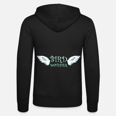 Ornithology Ornithology wings - Unisex Zip Hoodie