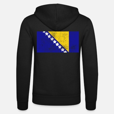 Bosnia Bosnia - Unisex Hooded Jacket by Bella + Canvas