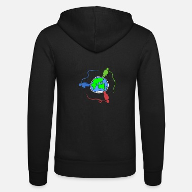 Global globalization - Unisex Zip Hoodie