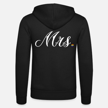 Partnerschaft Mrs. Shirt Partnerschaft LGBT ♥ - Unisex Kapuzenjacke von Bella + Canvas