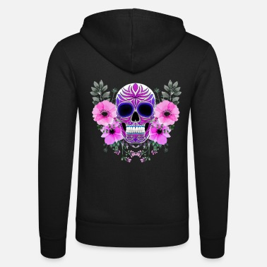 Day Of The Dead Skull day of the Dead Skull - Unisex Zip Hoodie