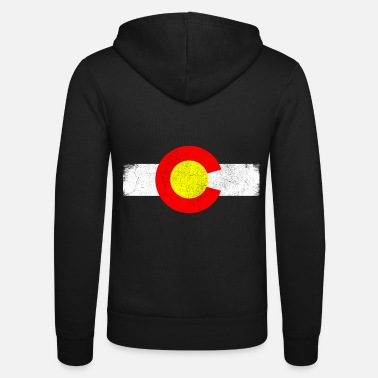 State Colorado state in the western United States - Unisex Zip Hoodie