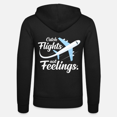 Traffic Pilot airplane propeller training flying - Unisex Zip Hoodie