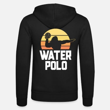 Water Polo Vintage Water Polo Shirts For Boys Men Love Sport - Unisex Zip Hoodie