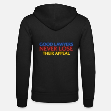 Grad Student Funny Attorney Lawyers Appeal Gift - Grad Student - Unisex Zip Hoodie