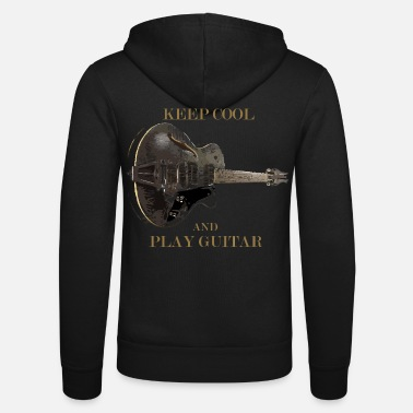 Guitar Player Guitar - Unisex Kapuzenjacke