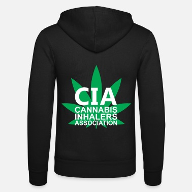 Cannabis Cannabis inhalatorenvereniging - Unisex zip hoodie