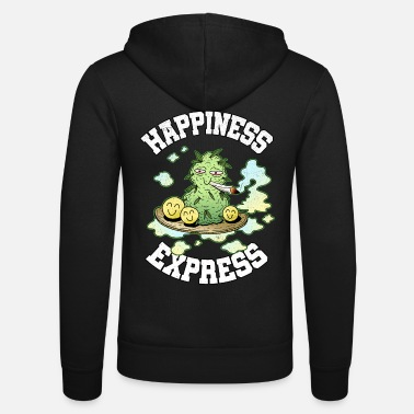 Happiness Express Weed Weed Smoking Happy THC - Chaqueta con capucha unisex