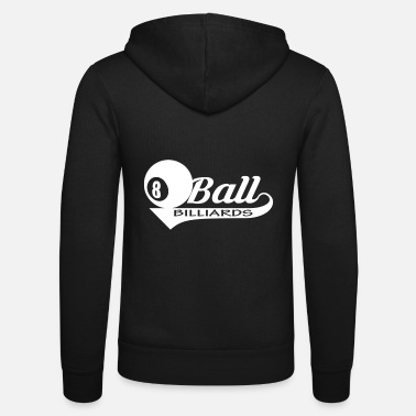 Ball Billiard ball ball - Unisex Zip Hoodie