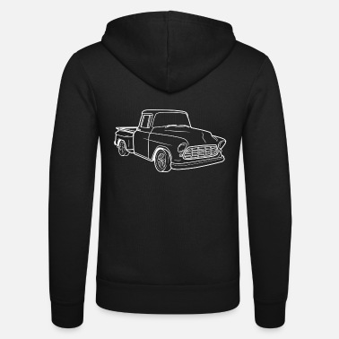 Up Klassieke Truck - Oldies Car - Pick-up Truck - Unisex zip hoodie