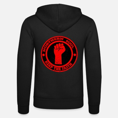 Northern Soul Northern Soul Keep the Faith - Unisex Zip Hoodie