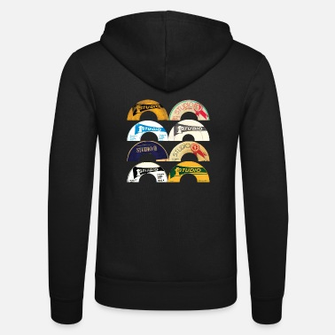 Record Studio One Reggae T-Shirt - Unisex Zip Hoodie