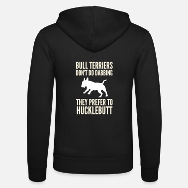 Bull English Bull Terrier Hucklebutt - Unisex Zip Hoodie