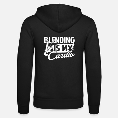Makeup Artist Makeup Artist Blending Is My Cardio - Unisex Zip Hoodie