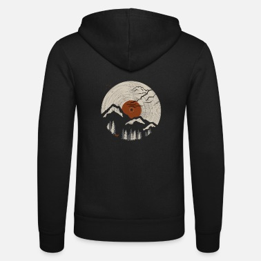 Record Mountain on record 2 - Unisex Zip Hoodie