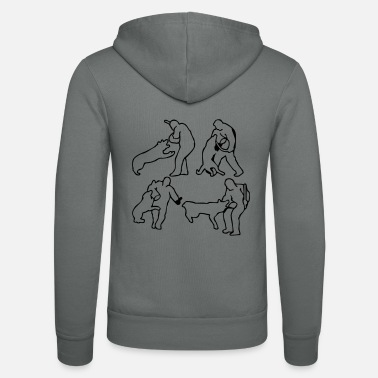 Dog Sports Dog Sport - Unisex Zip Hoodie
