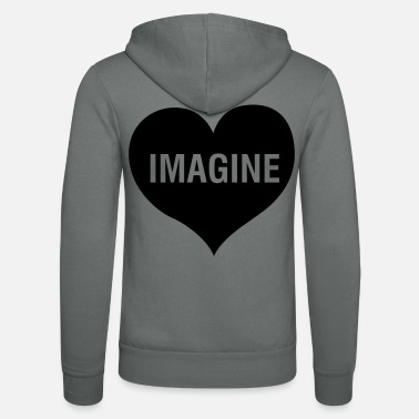 Imagination IMAGINE - Veste à capuche unisexe Bella + Canvas