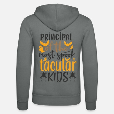Witch Principal of the most spook tacular kids - Unisex Zip Hoodie