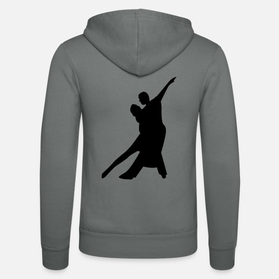 Dancer Hoodies & Sweatshirts - couple - Unisex Zip Hoodie grey