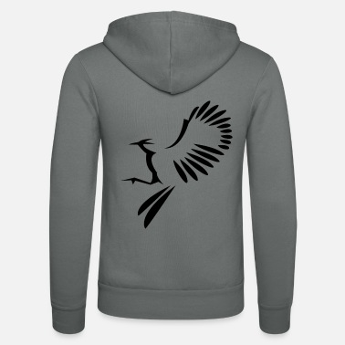 Bird Illustration Bird illustration - Unisex Zip Hoodie