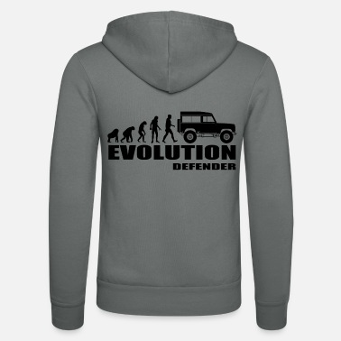 Evolution Defender - Unisex Zip Hoodie