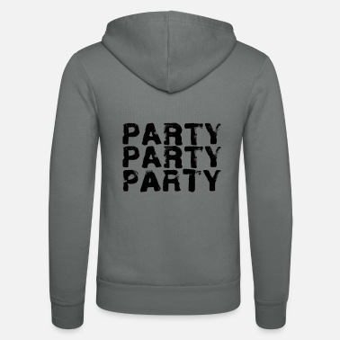 Party Party party party - Unisex Zip Hoodie