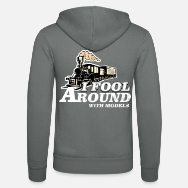 Model Building Model train, model building - Unisex Zip Hoodie