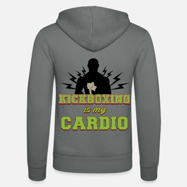 Knock Out KICKBOXING is my cardio - Veste à capuche unisexe