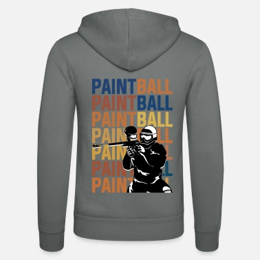 Paintball PAINTBALL PAINTBALL PAINTBALL - Unisex Zip Hoodie