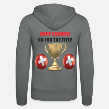 Swiss German Swiss Football Design - Unisex Zip Hoodie