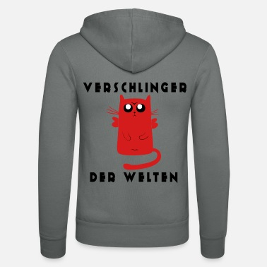 Dier Devourer of the Worlds - Grappige kat - Unisex zip hoodie