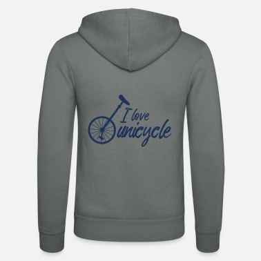 Unicycle Unicycle unicycling unicycle unicycle unicycles - Unisex Zip Hoodie