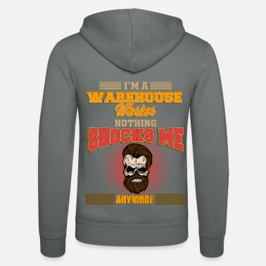 Worker WAREHOUSE WORKER Anymore - Unisex zip hoodie