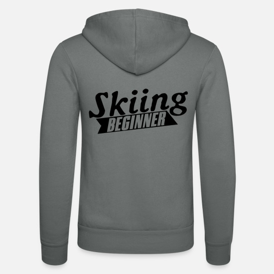 Gift Idea Hoodies & Sweatshirts - beginners - Unisex Zip Hoodie grey