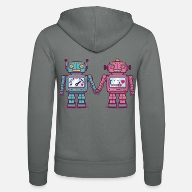 Collection For Kids Loving Robots - Unisex Zip Hoodie